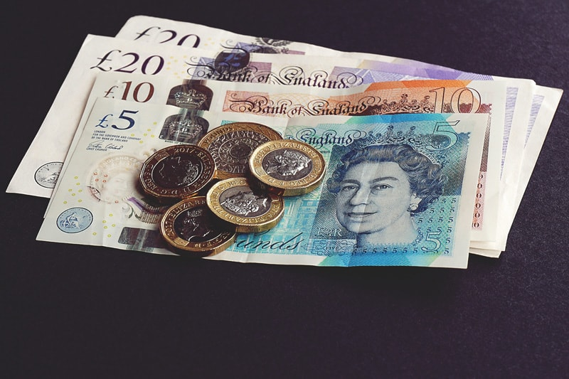 bank of England bank notes and coins