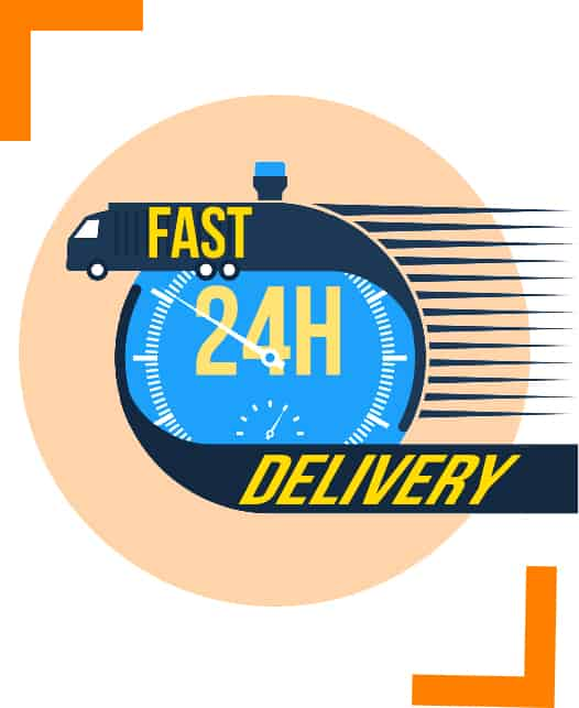 24 hours fast delivery