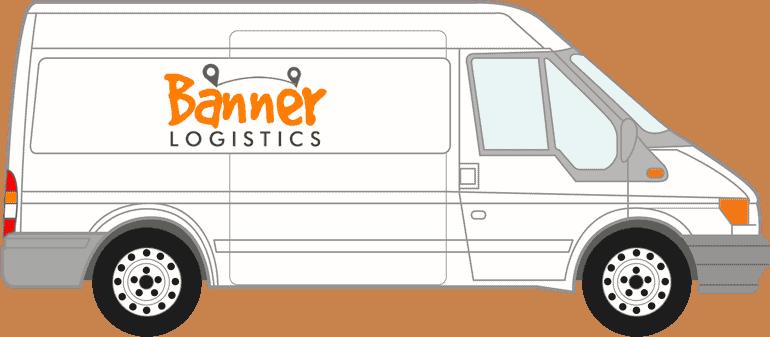 Large Courier Van