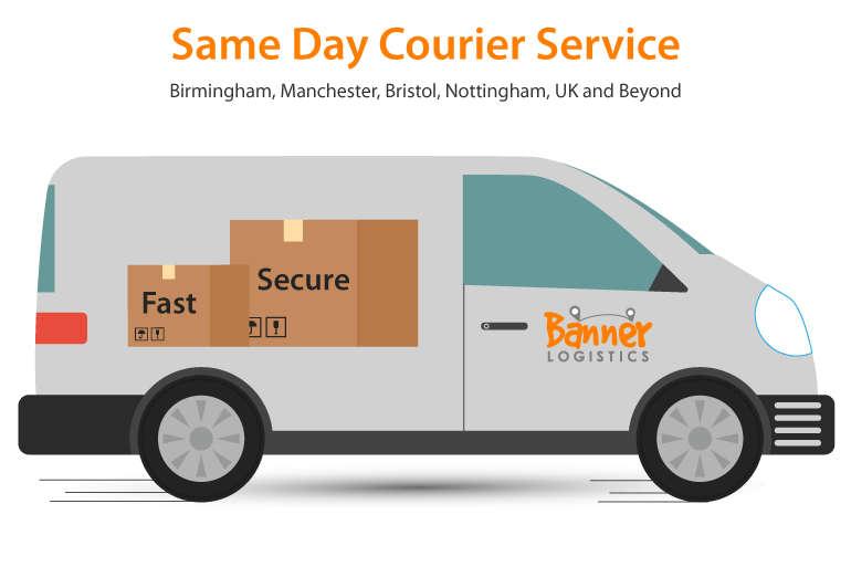 fast secure same day courier service